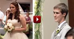Bride Begins Her Own Wedding with a Stunningly Beautiful Surprise - While I personally feel this is a little awkward, I loved it & she sounds incredible!