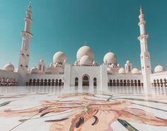Another shot of Sheikh Zayed Grand Mosque in AbuDhabi such a masterpiece.  Abu Dhabi   #zayed #grand #mosque #sheikh #sheikhzayedmosque #grandmosque #abudhabi #dubai #uae #mosque #dome #landscape #architecture #design #muslim #islam #مسجد #مساجد #مسجد_الشيخ_زايد  #zayid #visitabudhabi #abudhabilife #abudhabiblogger