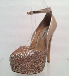 gold heels - Google Search