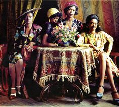The Pointer Sisters, 1970s. - saw them in concert - 1984 in Mobile, AL with Lionel Richie - they were awesome~!