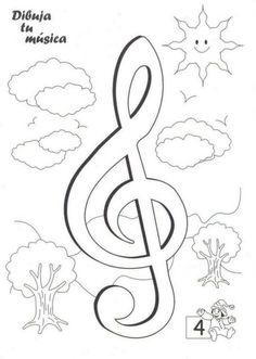 #ineverycrea Dibuja la música gracias a Educalina #infantil #primaria
