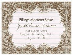 Billings Stake Youth Trek 2011: Pioneer Games