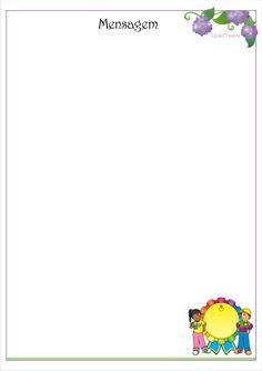 Modelo de Portfólio Educação Infantil como Instrumento de Avaliação. Portfolio, Professor, Letters, 1, Literacy Activities, Other, Index Cards, Classroom, Frames