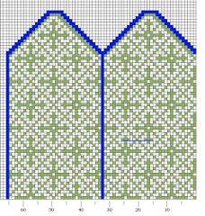 Knitting Charts, Hand Knitting, Knitting Patterns, Knit Mittens, 2 Colours, Kids Rugs, Embroidery, Wool, Crochet
