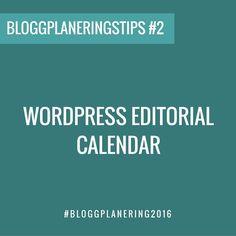 #BLOGGPLANERING2016 Ett smidigt sätt att planera in dina inlägg direkt i WordPress är genom att använda ett tillägg/plugin såsom WordPress Editorial Calendar. Med den kan du enkelt förbereda och planera din inlägg samt schemalägga dem så att de går ut när du vill.  Det finns även andra tillägg som t.ex Edit Flow att använda. [Under Företagarens Bloggplaneringsutmaning kommer du bland annat få en helt nygjord smart digital bloggkalender som du kan börja planera in dina inlägg i så det blir…