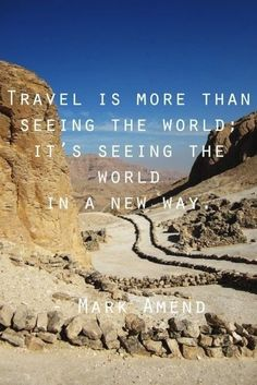 Travel Quote | New day. New adventure. #TravelQuotes