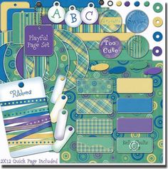 Free Digital Scrapbooking Kits | Looking for websites for scrapbook layout ideas