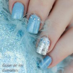 Korean Nail polish - Etude House Cinderella (Princess Happy Ending collection)  #korea #notd #glitter