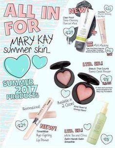 Summer Mary Kay Products    Www.Marykay.Com/claudiabarrett ☎️ (561) 220-0469