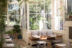 Archetype, the most charming restaurant, right in the heart of St. Helena. The restaurant was designed and is owned by Howard Backen and is managed by the Auberge Resorts Group.