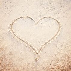 Love Photography heart beach sand photo