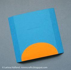 Meninas, boa tarde! Olha que lindinho esse cartão que encontrei no site mmmcrafts !   A ideia é um cartão que você puxa a língua do ...