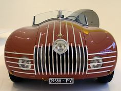 1948 Stanguellini Fiat 1100 - when STYLE was applied to cars Maserati, Bugatti, Lamborghini, Ferrari, Luxury Sports Cars, Sport Cars, Fiat Sport, Jaguar, Peugeot