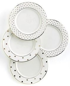 These Kate Spade plates really hit the spot on your dining table!