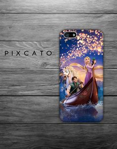 Disney Tangled - Iphone Case, Hard Plastic, FREE Shipping Worldwide. $10.99, via Etsy.