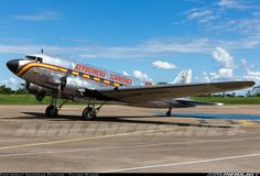 Oldie and Goldie: a gorgeous study of a Colombian C-47 Dakota, still in active airline service!