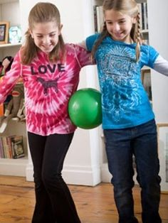 Fun games for the kids to do with friends at a sleepover.