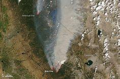 The Scale Of The Yosemite Fire