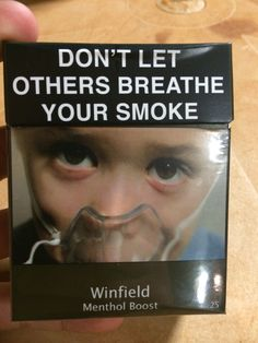Australia's cigarette packs
