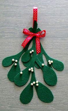Feuille de Gui de Noël