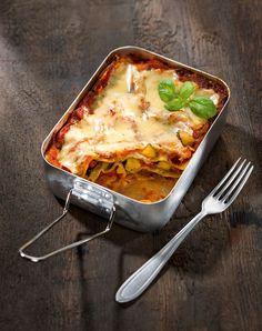 Vegane Gemüselasagne mit Tomatensauce und Mandelcreme – Rezept von Attila Hildmann-amicella