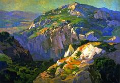 Canyon Green - Franz Bischoff - The Athenaeum