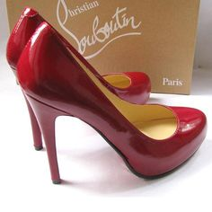 Every woman needs a pair of red shoes... There's no place like home unless you're in a pair of these ;)
