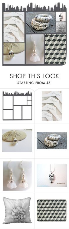 """Strictly Neautral"" by fibernique ❤ liked on Polyvore featuring etsy, jewelry, decor, EtsyShops and etsysellers"