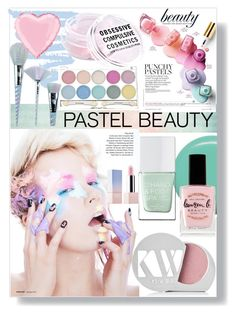 """Untitled #186"" by eleanor-l-grayson ❤ liked on Polyvore featuring beauty, Jin Soon, The Hand & Foot Spa, Kjaer Weis, Lauren B. Beauty, Unicorn Lashes, Obsessive Compulsive Cosmetics and Sephora Collection"