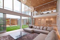 Interior Living Room Design Trends for 2019 - Interior Design Style At Home, House Ceiling Design, House Design, Future House, My House, Japanese Modern House, Interior Decorating, Interior Design, Dream Home Design