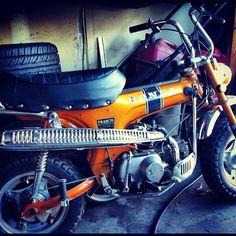Petaluma Supply co's Vintage Honda CT70.