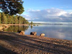 Lake at Hedesunda Camping #Sweden - gerund door Nederlanders Meindert en Renata