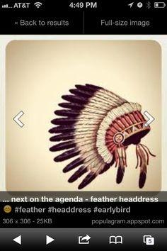 Indian head piece