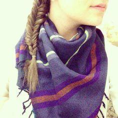 @alexisomera | I got a beautiful new hand made scarf from Ethiopia! #lemlem