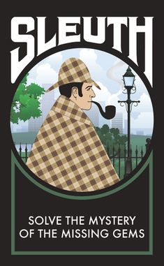 Sleuth. Deduction card game.