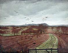 """A Winter Landscape"" by Christopher Nevinson, 1926"