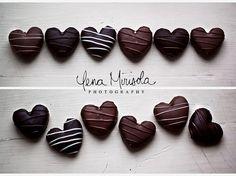 hearts + chocolate = <3 <3