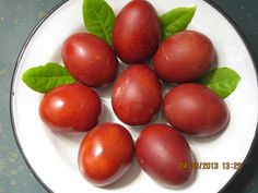 Try this! It's so much better for you than commercial chemical dyes. Greek-Easter_Eggs-Dyed-w-Onion-Skins