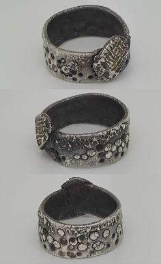 Nellysse - silver and gold ring