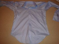 DIY CLOTHING ALTERATIONS: TAKING IN A (men's) DRESS SHIRT
