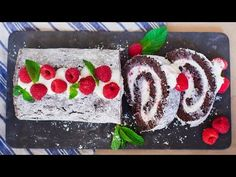 Chocolate Raspberry Swiss Roll - Tatyanas Everyday Food