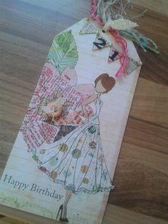 Prima dolls 21st card.