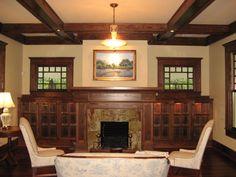 craftsman style decorating | Craftsman Bungalow Remodel, Craftsman Style Bungalow, new living room ...