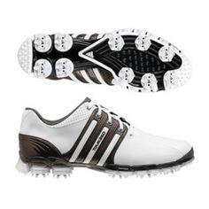 SALE - Mens Adidas Tour Golf Cleats White - BUY Now ONLY $99.99