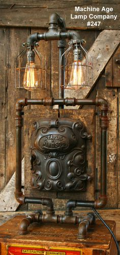 Created by Machine Age Lamp Company