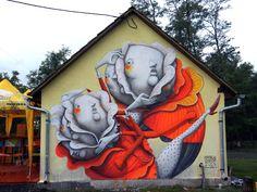 ZED1 New Mural In Deva, Romania