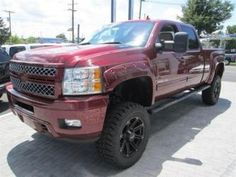 2014 Chevy Silverado 2500HD Diesel LTZ Southern Comfort Lifted Truck