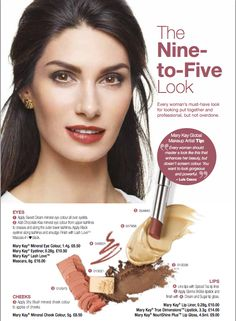This Mary Kay look is fabulous! Perfect for all girls looking for a simple way to look gorgeous. Give it a try!