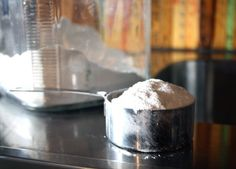 Tip:  Shine Stainless Steel With Flour