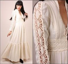 Another beautiful Gunne Sax! What is it about these dresses that I LOVE so much?